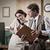 professionele · vintage · secretaris · telefoon · schrijven · beneden - stockfoto © stokkete