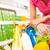 completo · carrinho · de · compras · supermercado · armazenar · legumes · frescos · mãos - foto stock © stokkete