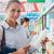 kadın · alışveriş · birlikte · süpermarket · arkadaşlar · bakkal - stok fotoğraf © stokkete