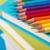 színes · ceruzák · köteg · egyezség · elöl · kilátás - stock fotó © stokkete