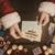 papai · noel · abertura · natal · carta · envelope - foto stock © stokkete