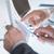 kezek · kettő · üzletemberek · megbeszél · üzlet · ügyek - stock fotó © stokkete