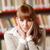 портрет · женщины · библиотека · женщины · рабочих - Сток-фото © stokkete
