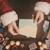abertura · natal · carta · foto · feliz · papai · noel - foto stock © stokkete