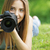 beautiful young photographer stock photo © stokkete