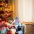 поезд · Рождества · подарок · деревянная · игрушка · специальный - Сток-фото © stokkete