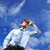 лучше · будущем · молодые · деловой · человек · Blue · Sky - Сток-фото © stokkete