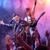 rock · koncertu · piosenkarka · gitarzysta · na · zewnątrz · tłum - zdjęcia stock © stokkete