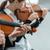 violin duet performance stock photo © stokkete