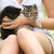 Cute · кошек · небольшой · кошки · назад - Сток-фото © stokkete