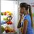 słodkie · pokusa · kobieta · zrujnować · diety · owoców - zdjęcia stock © stokkete