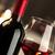 bicchiere · di · vino · bottiglia · ancora · vita · vino · rosso · vetro - foto d'archivio © stokkete