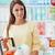 młoda · kobieta · supermarket · młodych · atrakcyjna · kobieta · spożywczy - zdjęcia stock © stokkete
