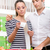 Couple checking a long supermarket receipt stock photo © stokkete