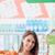 vegan · Shopping · femme · souriante · supermarché · épicerie - photo stock © stokkete