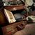 antik · rádió · klasszikus · háttér · zene · fa - stock fotó © stokkete
