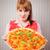 végétarien · pizza · photo · délicieux · table · en · bois · alimentaire - photo stock © stokkete