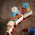 houten · speelgoed · trein · locomotief · vier · half - stockfoto © stokkete