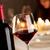 degustazione · di · vini · ristorante · bottiglia · vetro · vino · rosso · party - foto d'archivio © stokkete