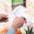 femme · Shopping · liste · épicerie · supermarché · poussant - photo stock © stokkete