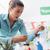 drága · élelmiszer · nő · vásárlás · áruház · hosszú - stock fotó © stokkete