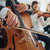 cello players hands close up stock photo © stokkete