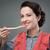 chef · vrouw · proeverij · voedsel · portret - stockfoto © stokkete
