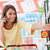 mercearia · compras · mulher · jovem · telefone · móvel · supermercado · mulher - foto stock © stokkete