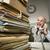 dojrzały · biznesmen · telefonu · biuro · portret · człowiek · biznesu - zdjęcia stock © stokkete
