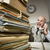 vintage businessman on the phone stock photo © stokkete