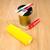pintura · rojo · 3D · color · suelo · blanco - foto stock © stokkete