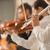 profi · furulya · játékos · előad · női · klasszikus · zene - stock fotó © stokkete