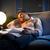 бизнесмен · спальный · диван · белый · человека · костюм - Сток-фото © stokkete
