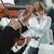 hegedűművész · előad · zene · lap · játszik · hangszer - stock fotó © stokkete