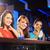 három · fiatal · nők · italok · éjszakai · klub · nők · boldog - stock fotó © stokkete