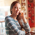 mutlu · kadın · çağrı · restoran · insanlar - stok fotoğraf © stokkete