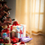 colorful christmas interior with gifts stock photo © stokkete