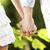 fiatal · házaspár · kéz · a · kézben · esküvő · nap · kéz - stock fotó © stokkete