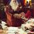Święty · mikołaj · czytania · książki · szczęśliwy · okulary · starej · książki - zdjęcia stock © stokkete