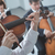 classical orchestra string section performing stock photo © stokkete