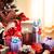 karácsonyfa · ajándékok · ablak · fa · otthon · háttér - stock fotó © stokkete