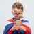 menino · telefone · criança · móvel · falante - foto stock © stokkete