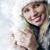 mulher · jovem · inverno · roupa · frio · isolado · preto - foto stock © stokkete