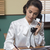 vrouw · kantoor · schrijven · beneden · merkt · nota - stockfoto © stokkete