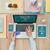 compras · on-line · mulher · trabalhando · mesa · de · escritório · laptop · compras - foto stock © stokkete