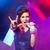 fiatal · tinédzser · csillag · színpad · rocksztár · énekel - stock fotó © stokkete