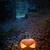 ardente · abóbora · halloween · fogo · cara · fundo - foto stock © stokkete