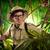 caminhada · selva · jovem · aventureiro · olhando - foto stock © stokkete