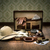 open · vintage · valigetta · pelle · retro - foto d'archivio © stokkete