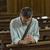 religious man in the church stock photo © stokkete